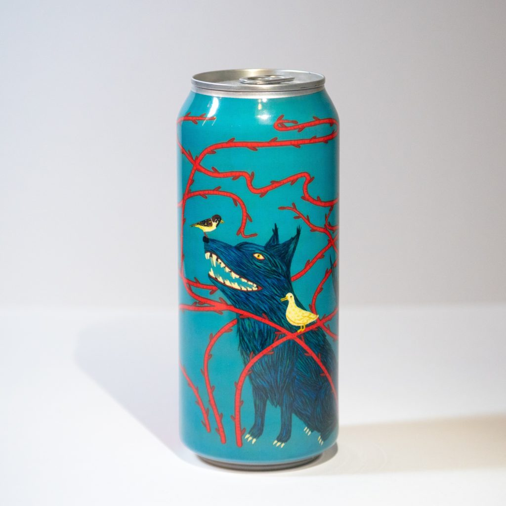 """Peter and the Wolf on Collective Arts Brewing's Series 9 """"Mash Up The Jam"""" Label."""